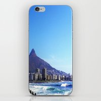 south africa iPhone & iPod Skins featuring South Africa Impression 6 by Art-Motiva