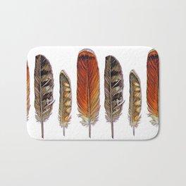 Raptor Feathers Bath Mat