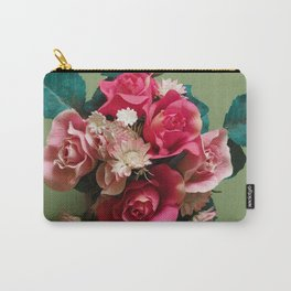 Artificial Bouquet Carry-All Pouch