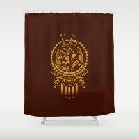 steampunk Shower Curtains featuring Steampunk 1852 by WinterArtwork