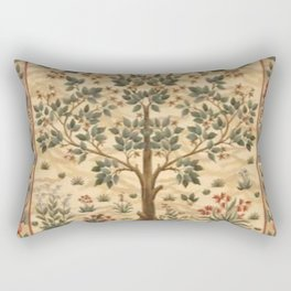 William Morris Tree Of Life Rectangular Pillow