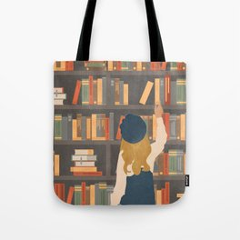Library Love Tote Bag
