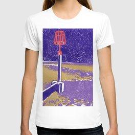 Seaview Fire Beacon in Purple T-shirt