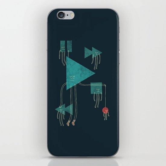 The Joy of Playing iPhone & iPod Skin