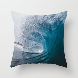 Great Surf Throw Pillow