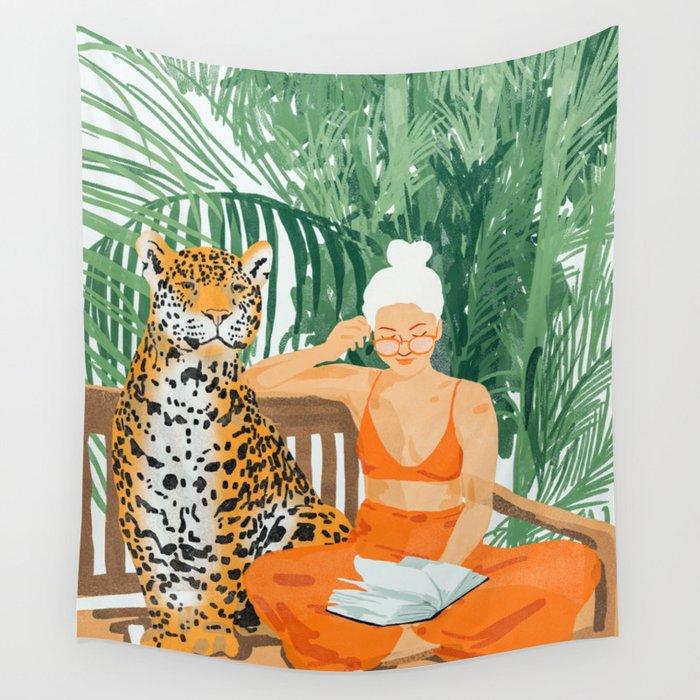 Jungle Vacay #painting #illustration Wandbehang