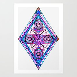 Watercolor Diamond Art Print