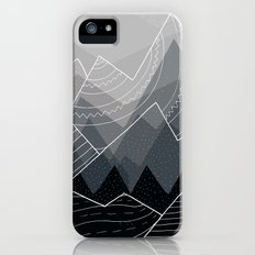 Grey Mountains Slim Case iPhone (5, 5s)