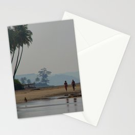 Along the Beach North Goa Stationery Cards