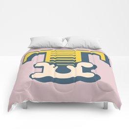 'The letter T' Design Motif Comforters
