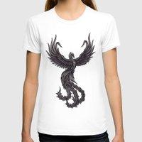 phoenix T-shirts featuring Phoenix by Texnotropio