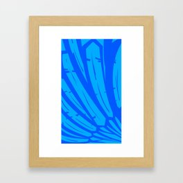 Into Feathers Framed Art Print