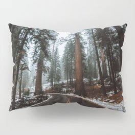 Foggy Forest Wanderlust Pillow Sham