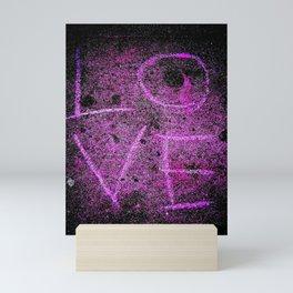 Word on the street is...LOVE! Mini Art Print