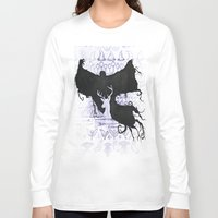 potter Long Sleeve T-shirts featuring Harry Potter by Carmen McCormick