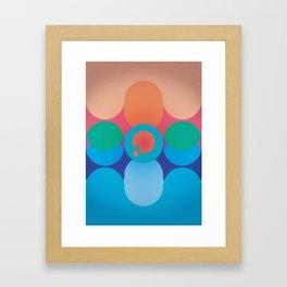 Cry. An Ocean Framed Art Print
