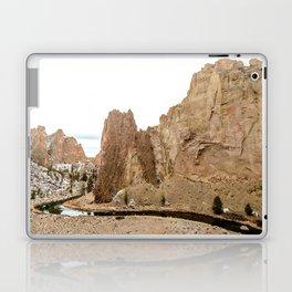 Smith Rock Oregon Desert Sunset - Nature Photography Laptop & iPad Skin