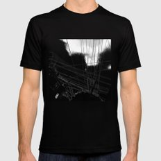 Page st San Francisco Black Mens Fitted Tee MEDIUM