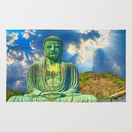 Sacred Buddha Sky Rug