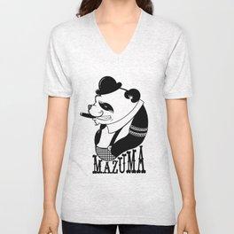 Panda Palooka Pitchin Woo Unisex V-Neck