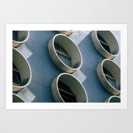 Pod Architecture Art Print
