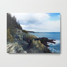 Introducing the Bold Coast Metal Print