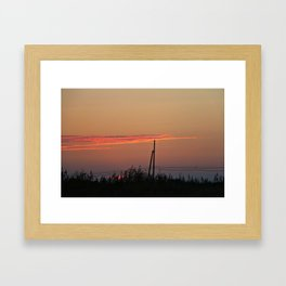 With my Wings comes Freedom Framed Art Print