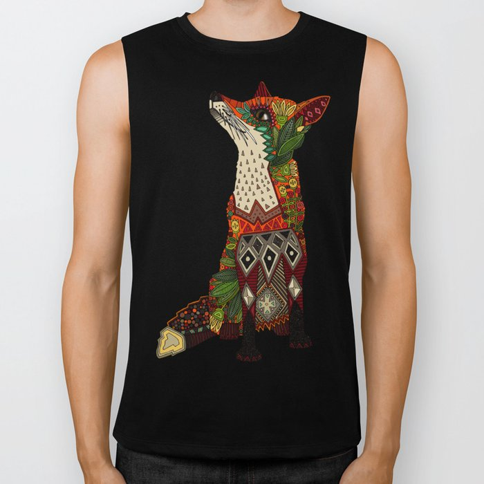 fox love mint Biker Tank