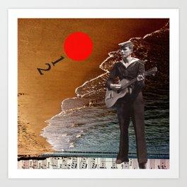 Summer Song Art Print