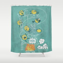 Waterslide Shower Curtain