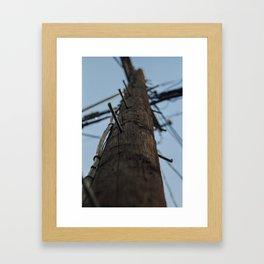 Los Angeles Califoria Sunny Sky Electrical 2018 Framed Art Print