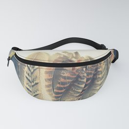 Feather Dip Fanny Pack