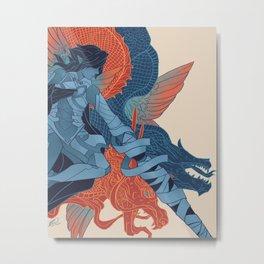 The Dragon's Claws Metal Print
