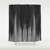 tie dye Shower Curtains featuring dye by a.r.r.p.