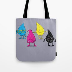 Four Ink Drops Tote Bag