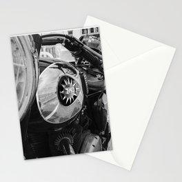 classic vintage British BSA motorbike Stationery Cards
