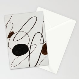 Caugth In Abstraction Stationery Cards