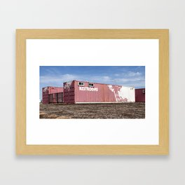 Restrooms Framed Art Print