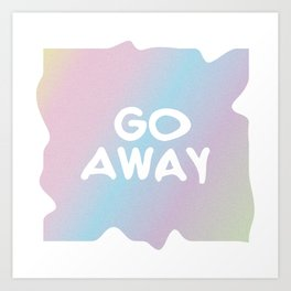 just go Art Print