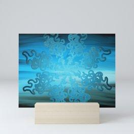 Ice Cold Abstract Mini Art Print