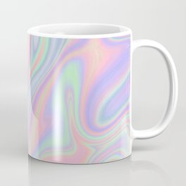 Liquid Colorful Abstract Rainbow Paint Coffee Mug