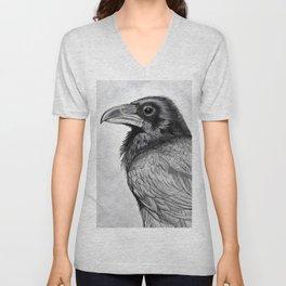 Corvus Corax (The Common Raven) Unisex V-Neck