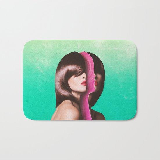 Split Hairs Bath Mat