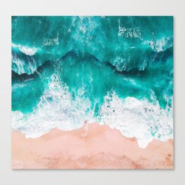 Ocean adventures -drone Canvas Print