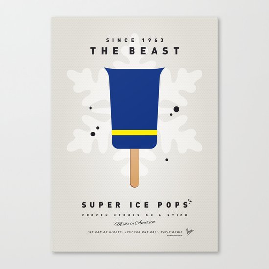 My SUPER ICE POP- No09 Canvas Print