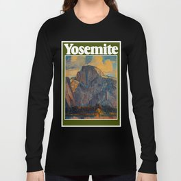 Vintage Yosemite National Park Long Sleeve T-shirt