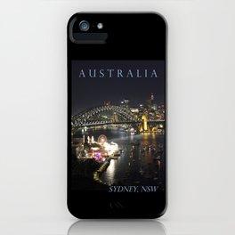 Sydney Night Lights iPhone Case