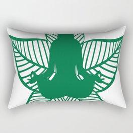 Nature Yoga Rectangular Pillow