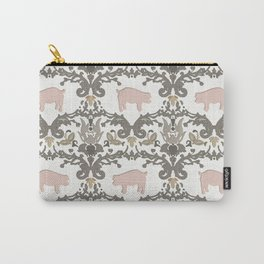 pig damask Carry-All Pouch