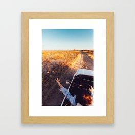 Perth. Framed Art Print